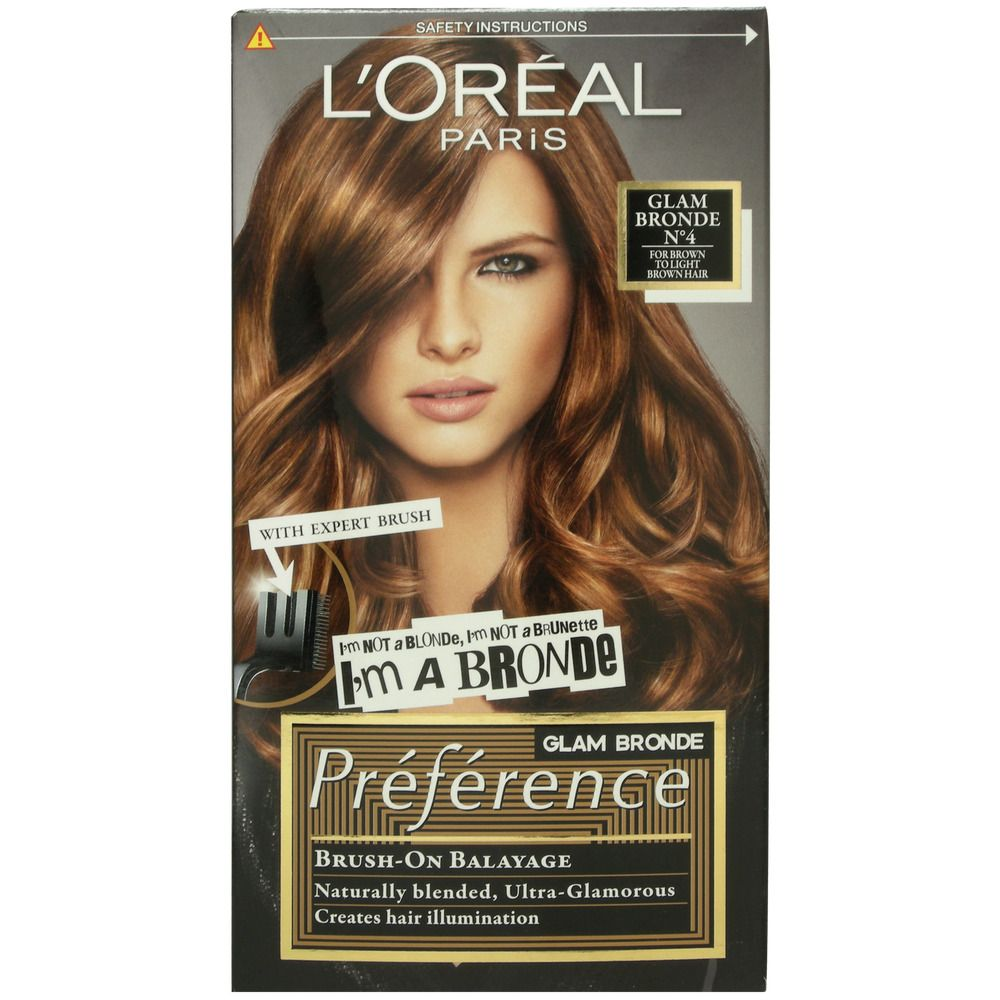 Details About L Oreal Preference Glam Bronde No 4 Light Brown