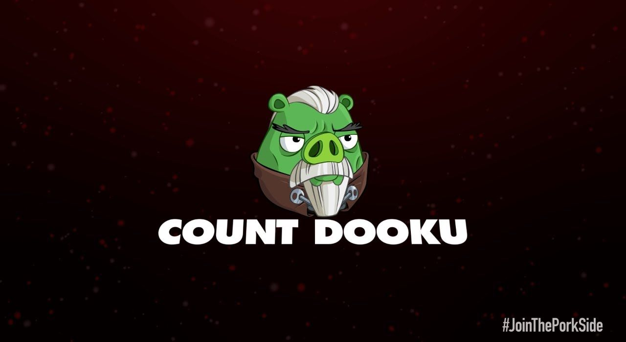 Angry Birds Star Wars 2 Character Reveals Count Dooku Angry