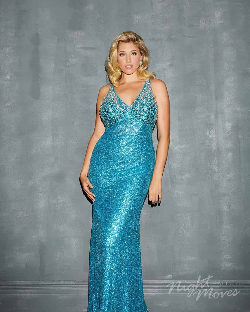 Night Moves Plus Size 7125W at The Ultimate Prom