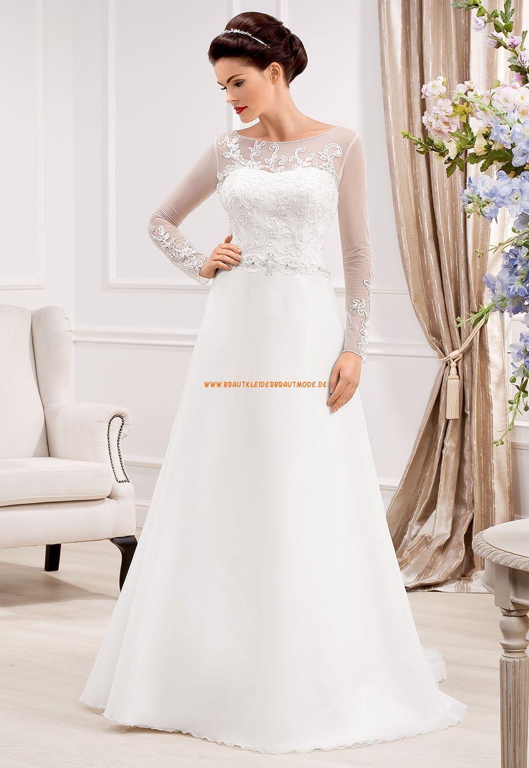 A-linie Edle Tolle Hochzeitskleider aus Organza | Brautkleid ...