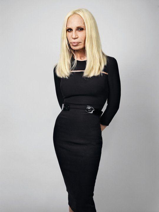 Donatella Versace Style
