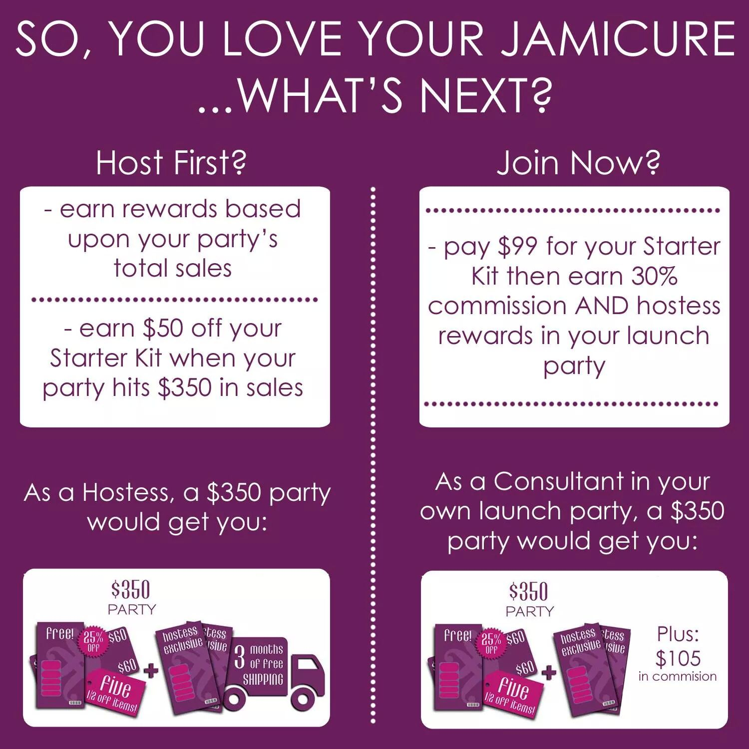 Message me to host or join! Http//kclancy.jamberrynails