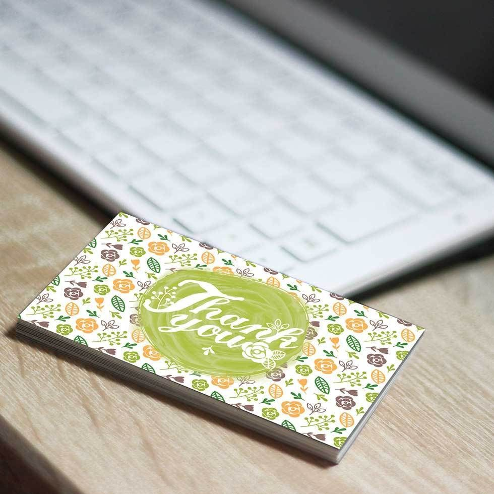 250 Thank You Business Card for the Ebay Seller Qty 250 Thank you ...