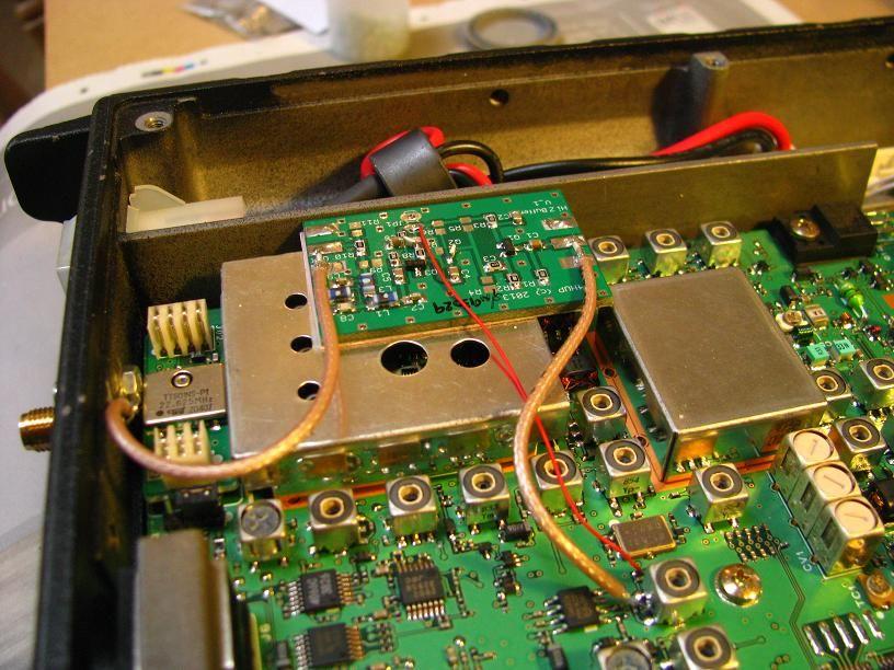 Pan Adapter Kit for FT-897 and more | HAM Radio | Ham radio, Audio