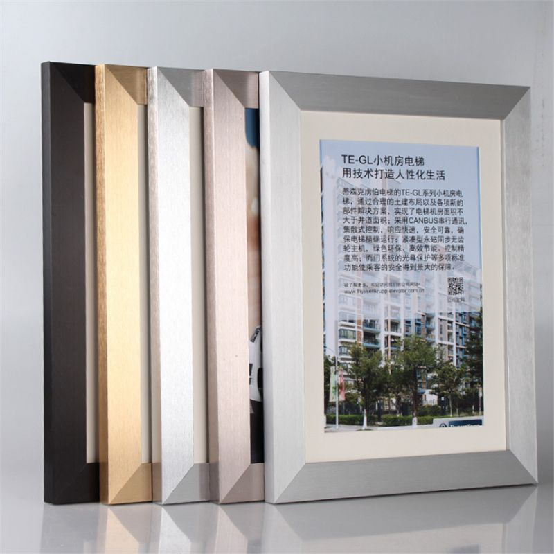 50*70CM Painting Frame Aluminum Alloy Decorative Art Frame Moulding ...