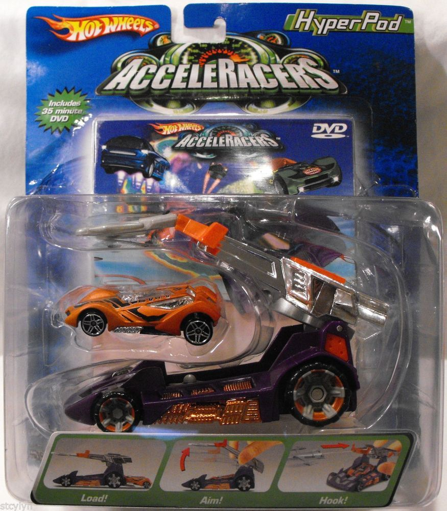 Hot Wheels 2004 AcceleRacers HyperPod With SINSTRA