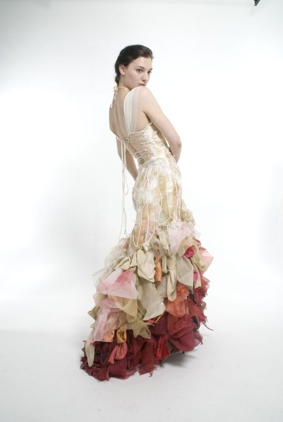 Wai Ching Does Gorgeous Colourful Wedding Dresses
