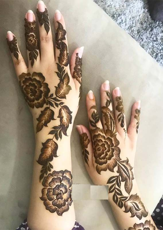 13 Unique Henna Designs Doing The Rounds This Wessing: Fresh And Unique Mehandi Designs For Every Occasion In