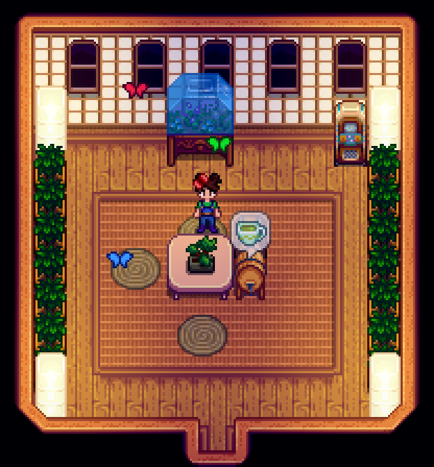 Am I Late To The Teahouse Party Stardewvalley In 2020 Stardew Valley Stardew Valley Layout Stardew Valley Farms