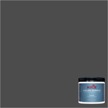 Kilz Interior/Exterior Paint 8 Oz. Color Sample, #RM210 Toasted Poppyseed,