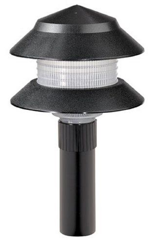 Paradise Gl22627bk Low Voltage Plastic 4 Watt Two Tier Path Light Black By Paradise 6 58 From The Ma Path Lights Landscape Lighting Landscape Lighting Kits