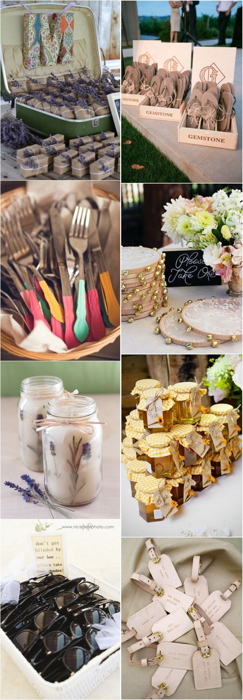 9 IDEAS FOR UNIQUE (AND EASY) WEDDING CENTERPIECES picture