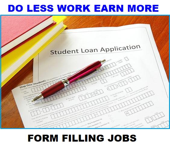 Online Forms Filling jobs or Offline Forms Filling job is