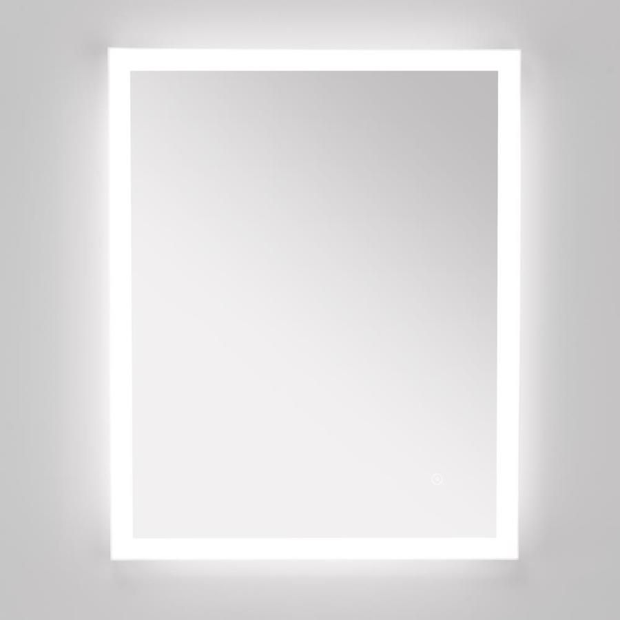 Style Selections 24-in x 30-in LED Lit mirror Rectangular ...