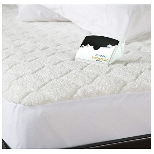 Biddeford 53039051128100 Quilted Sherpa Electric Heated Mattress Pad King To View Further For This Item Heated Mattress Pad Mattress Pad Mattress Pad Queen