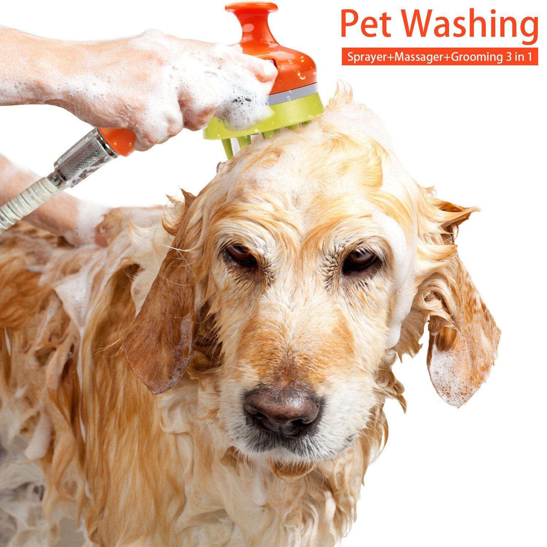 Impress Life Pet Shower Head Dog Washing Sprayer Massage Grooming