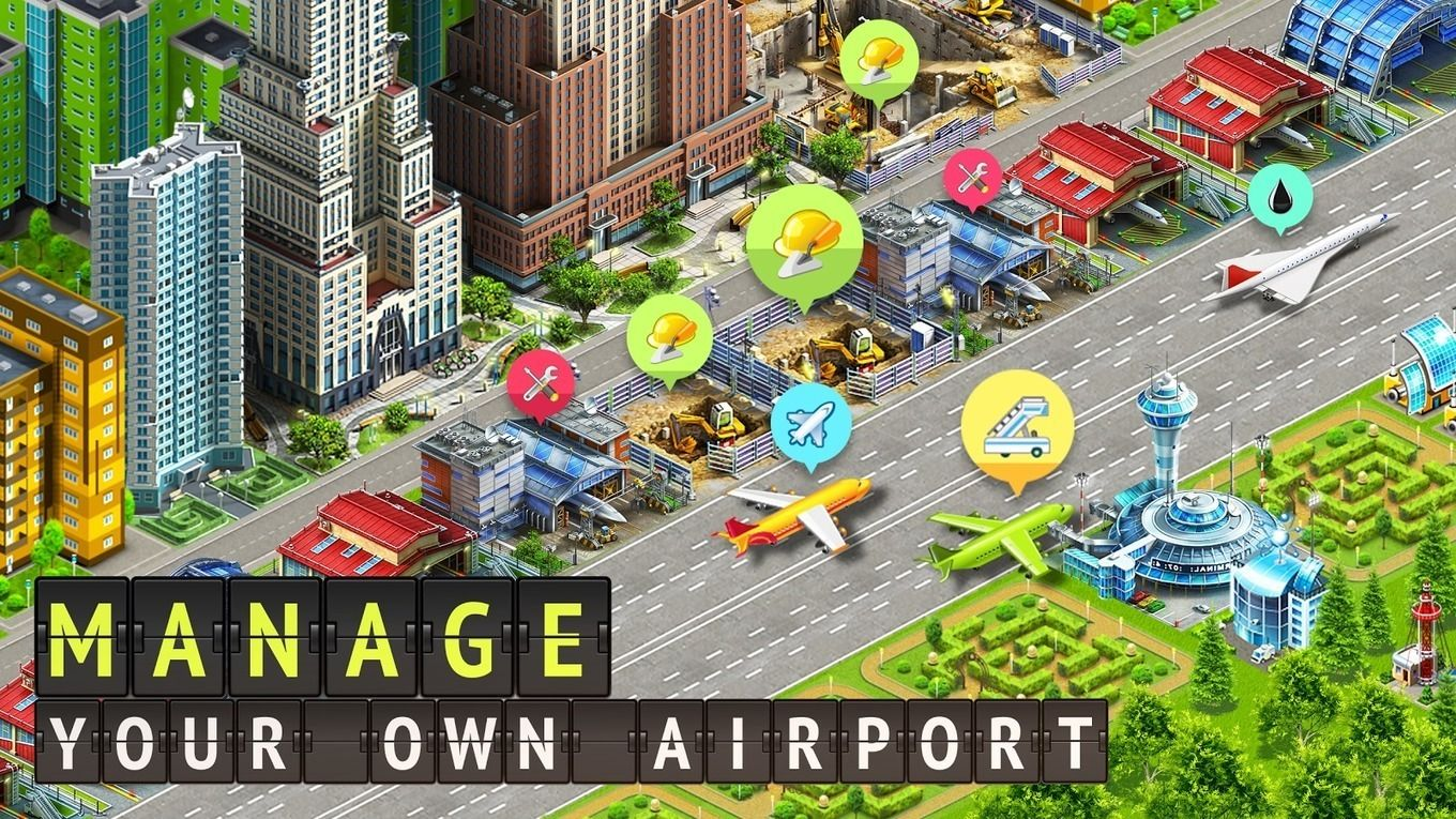 Airport city: Airline tycoon games for iPhone & iPad 2018
