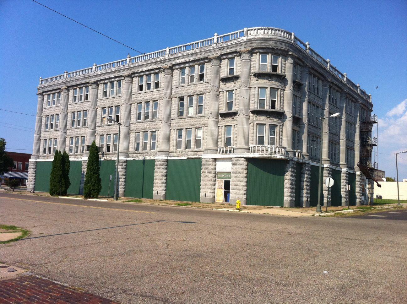 City Of David Benton Harbor Michigan S Hotel Now Empty Downtown