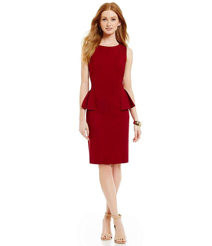 Merlot:Antonio Melani Hayworth Ponte Dress