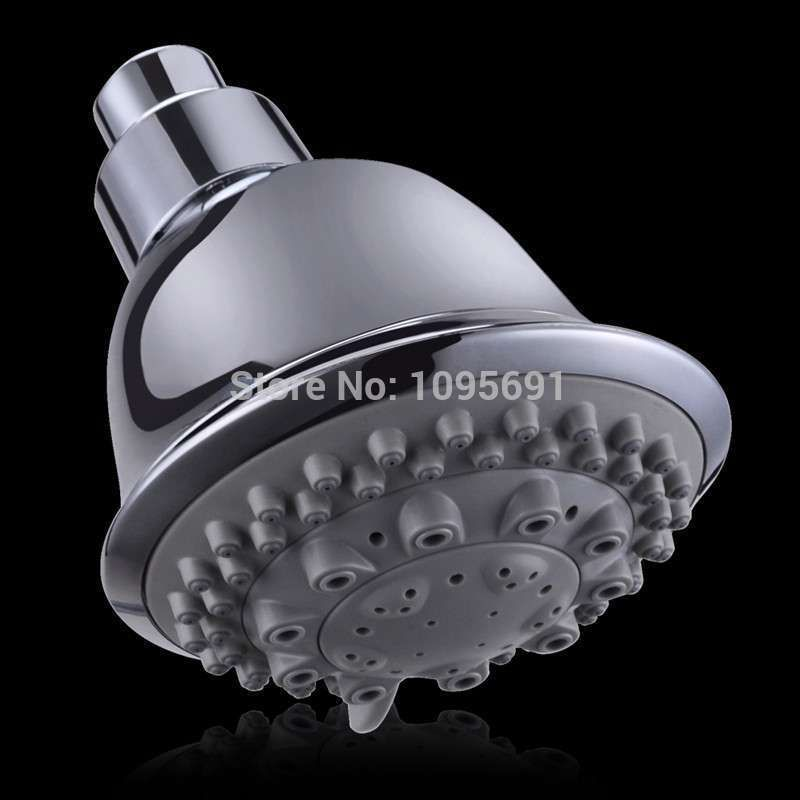 European quality powerful Top ABS TPR chrome plated shower head top ...