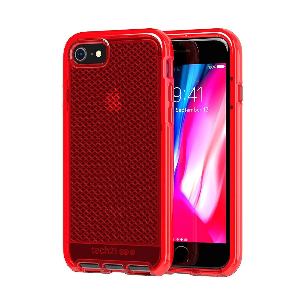 Tech21 Apple IPhone 8/7 Evo Check Case - Rouge