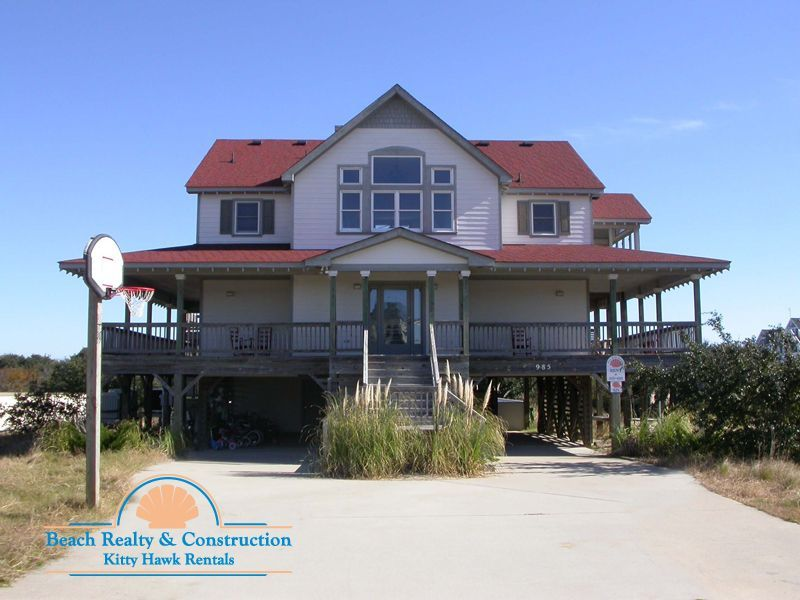 Good Price A Little Outdated 5 Lots From Beach Outer Banks Rentals Pool Hot Tub Obx Vacation Rentals