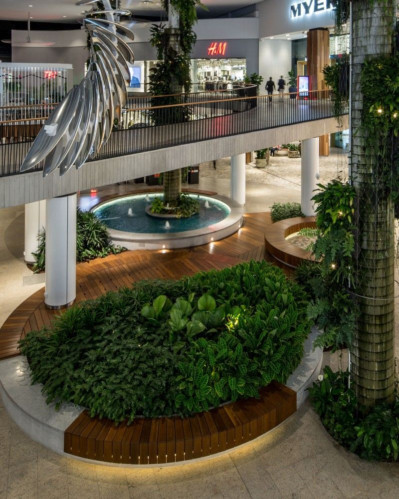 Interior Garden Design Timeless Swedish: Westfield Warringah Mall Lighting Design By Electrolight