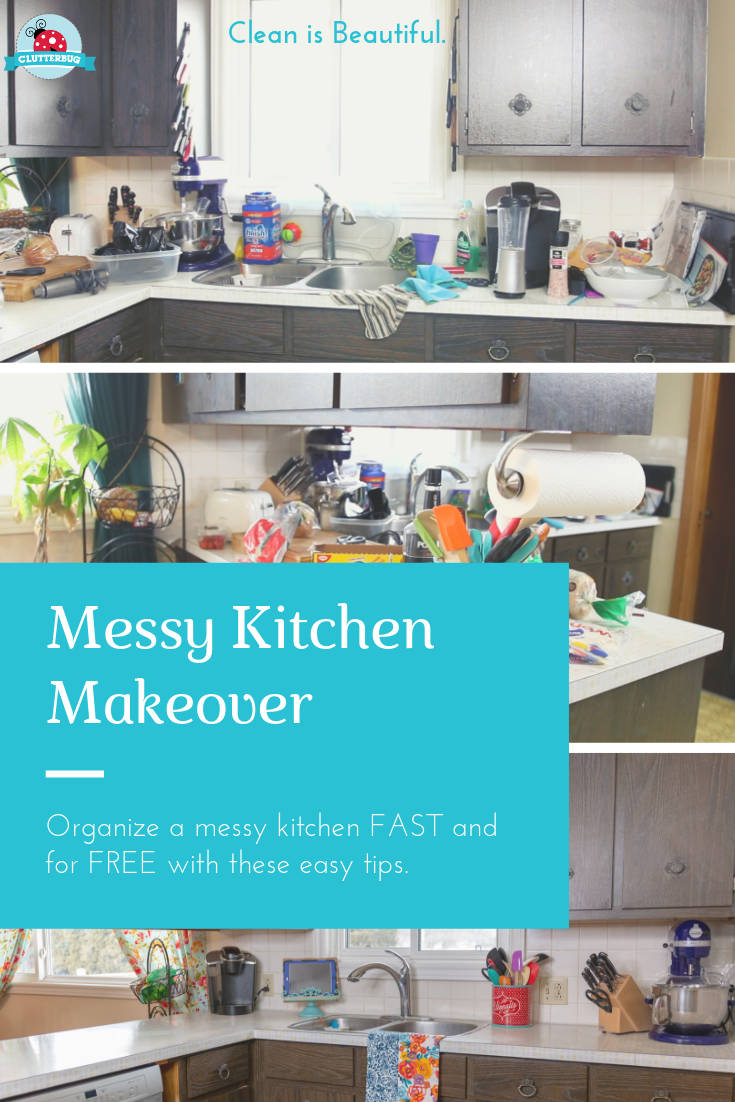 You Can Update A Messy And Tired Kitchen For Free With Little