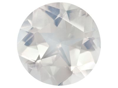 Brazilian Blue Moon Quartz Average 10.75ct 15mm Round Texas Star Cut