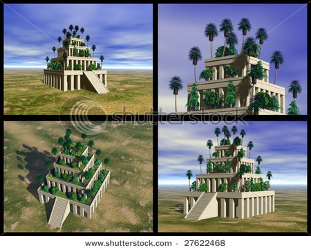 19b300f7dfc587a5bf9a5252a1ef61b7 - Seven Wonders Of The Ancient World Hanging Gardens