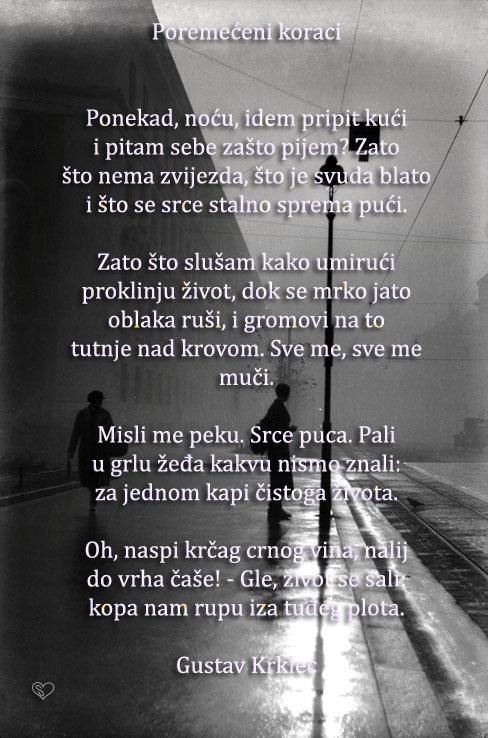 Oslikana Poezijamislicitatiaforizmi Gustav Krklec