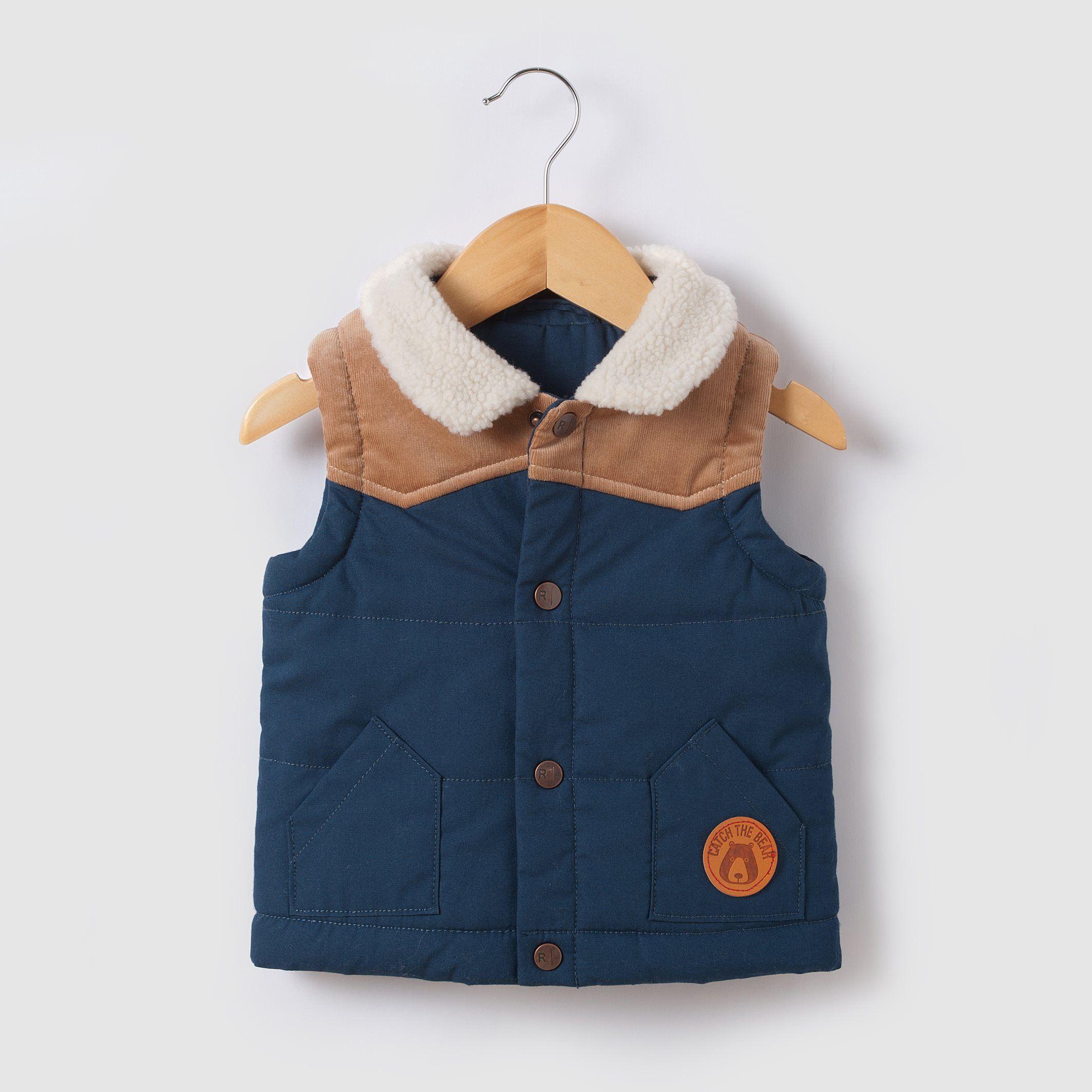 Dual fabric hooded bodywarmer month years r mini price