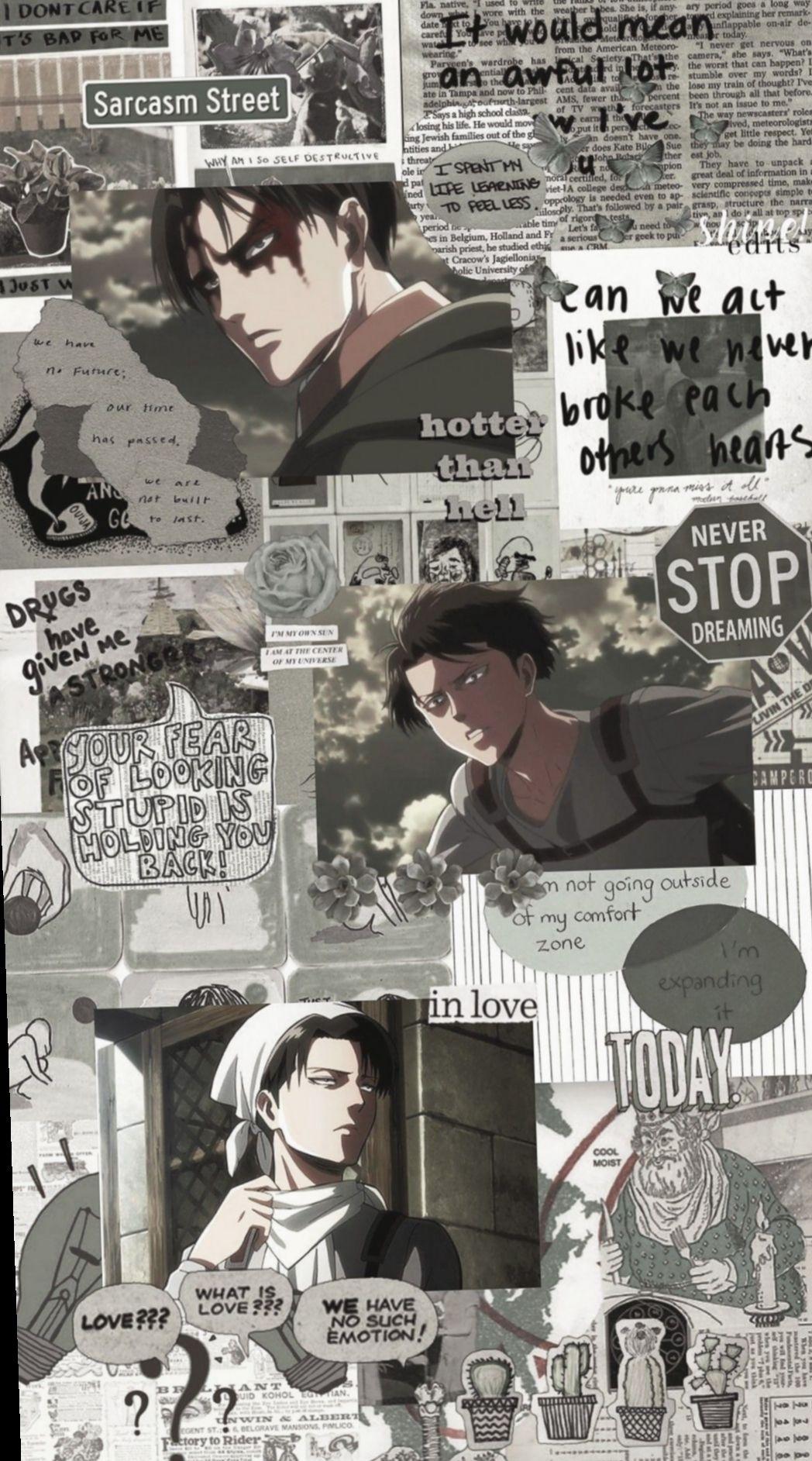 Aesthetic Anime Wallpapers Aot - Anime Wallpaper HD