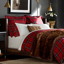 Furniture Home Furnishings Luxury Home Furniture Williams Sonoma Red Plaids Are Perfect
