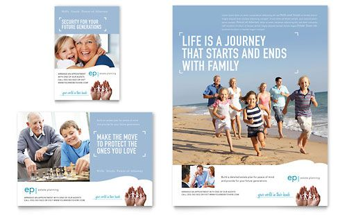 estate planning flyer ad template dtp ideas ads print