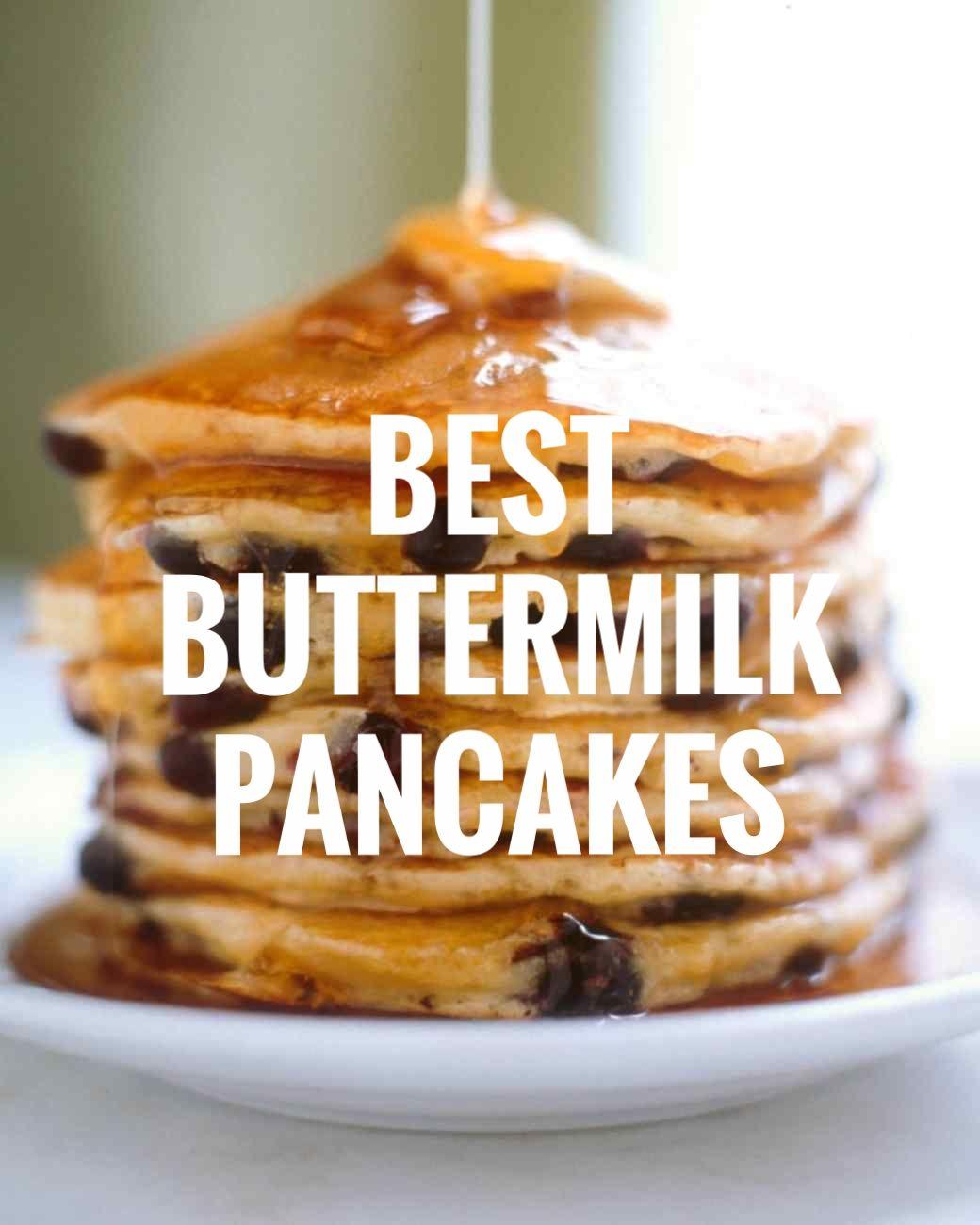 Best Buttermilk Pancakes Recipe Buttermilk Pancakes Sweet Breakfast Food