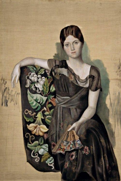 Olga Khokhlova  - Pablo Picasso
