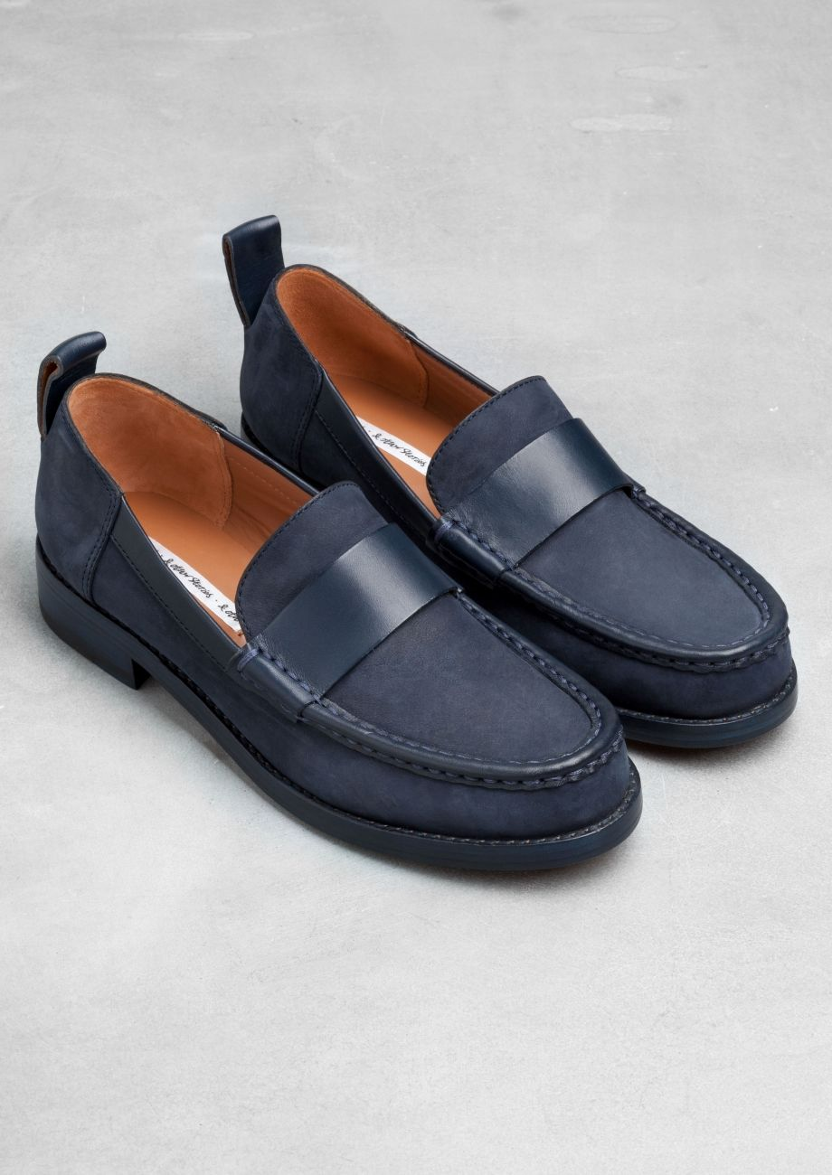 Low-heel leather loafers | Low-heel leather loafers | & Other Stories