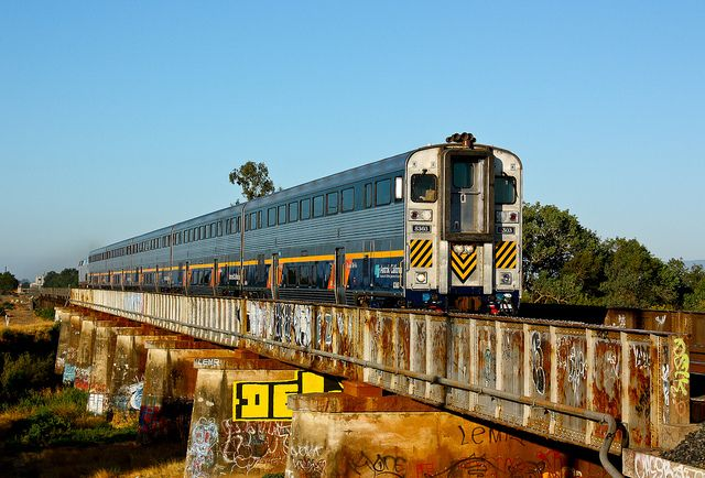 Capitol Corridor at West Bridge | An early morning Capitol C… | Flickr