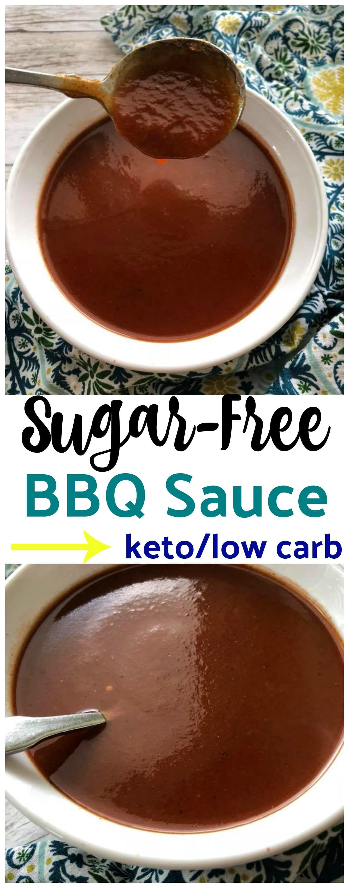 Homemade Low Carb SugarFree BBQ Sauce {keto friendly