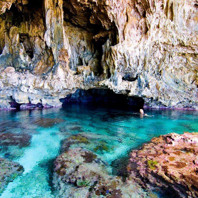 gruta azul