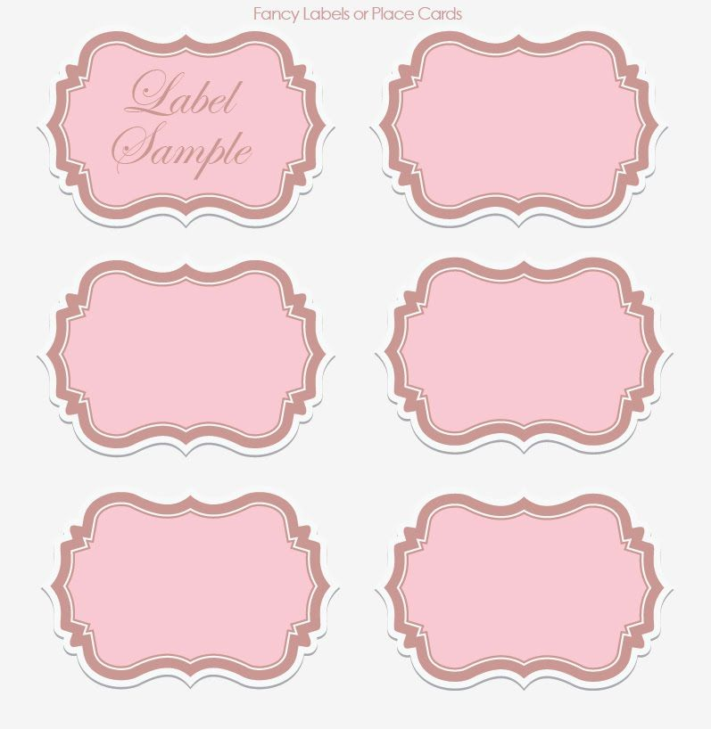 label templates Wedding Wednesday DIY Printable Vintage - labels template free