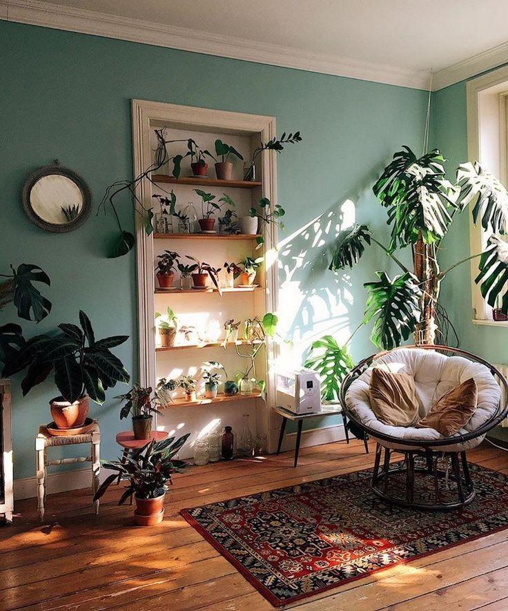 Böhmisches spätestes und stilvolles Hauptdekor Design und Lebensstil-Ideen #bohemianwohnen