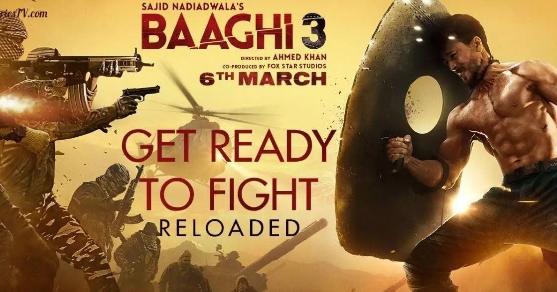 Get Ready To Fight Reloaded Hindi Song Lyrics Baaghi 3 Get Ready