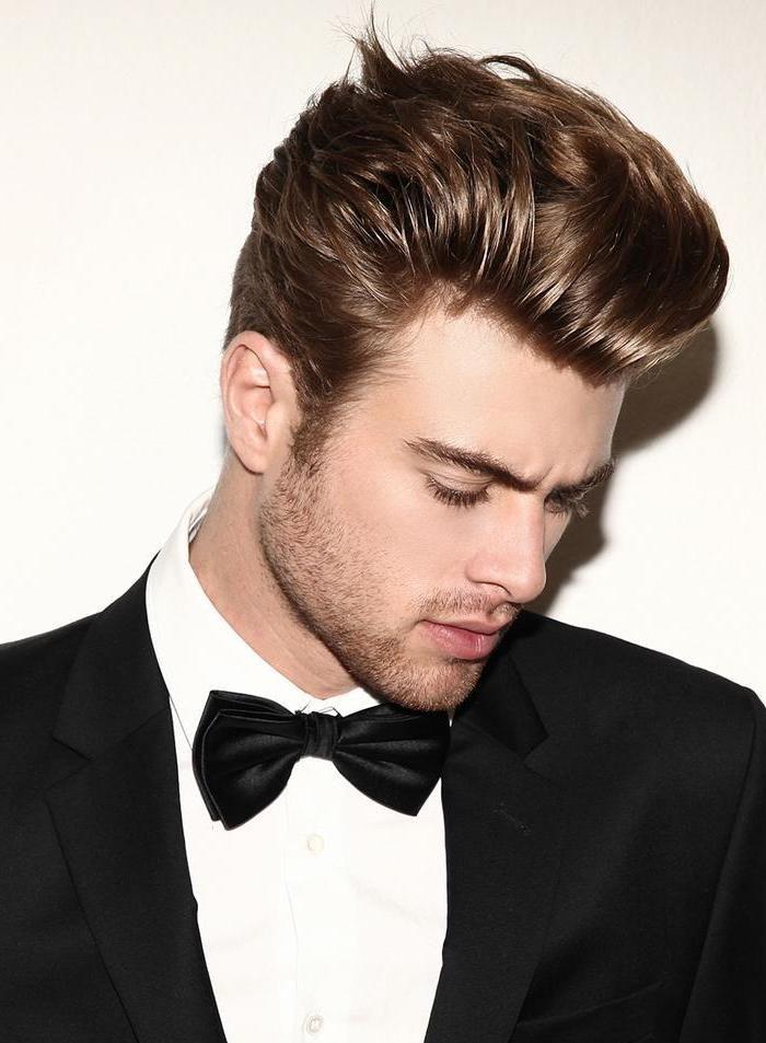 hairstyles silky hair men