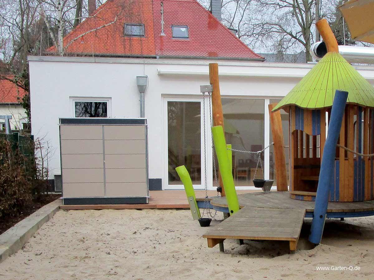 Geratehaus Fur Kita Und Kindergarten Garten Haus Gartenhaus