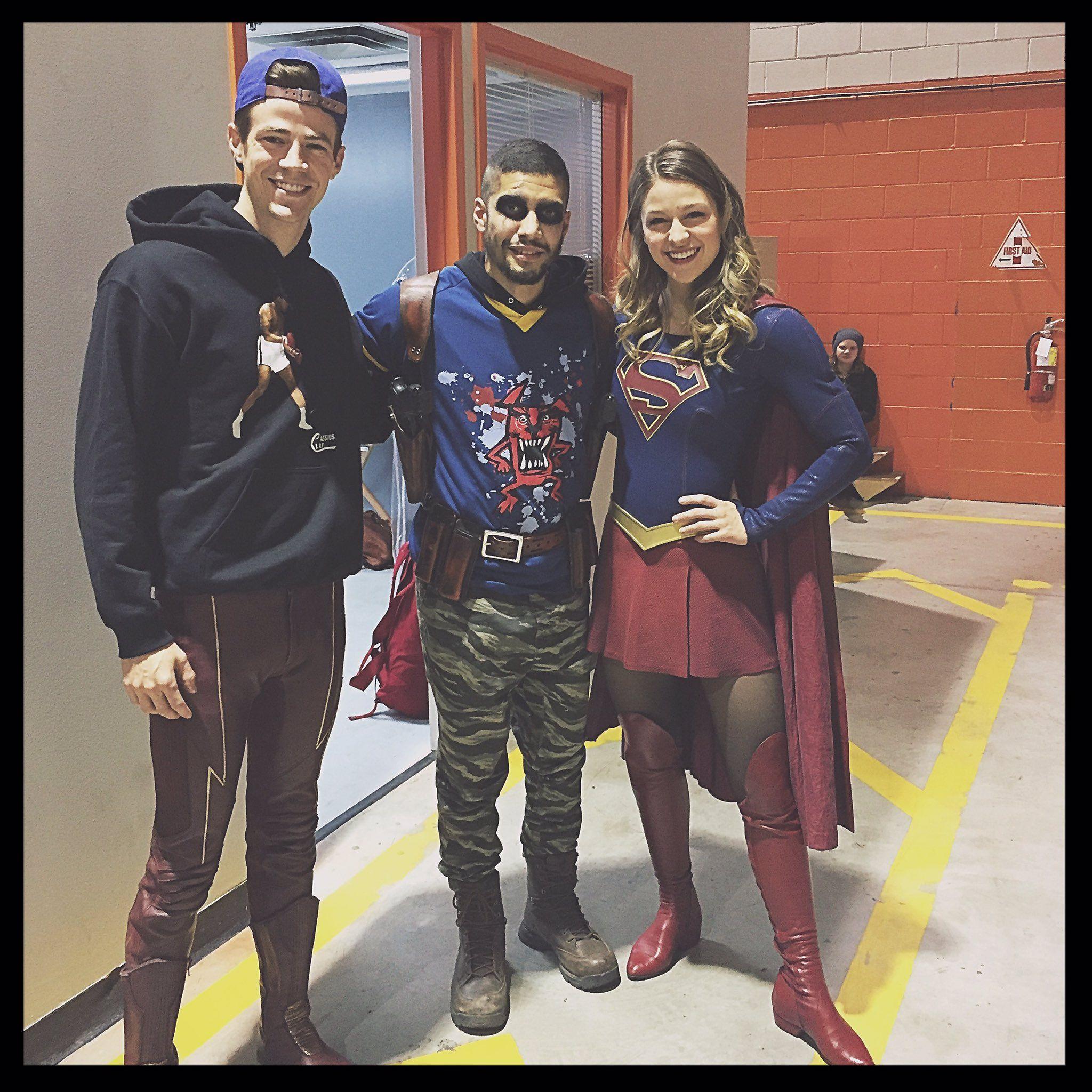 Rick Gonzalez On Twitter Grant Gustin Supergirl Tv Supergirl