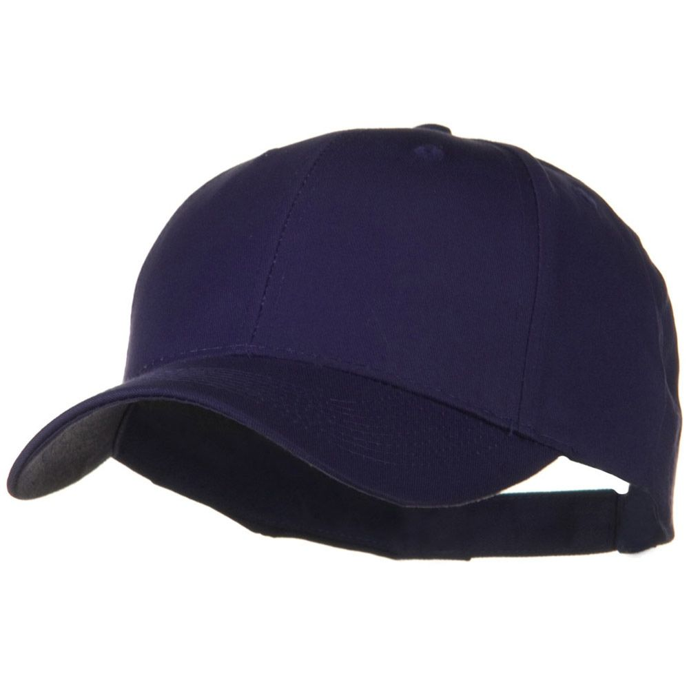 low priced 64539 1de97 ... reduced solid cotton twill low profile strap cap purple 86280 bbf19