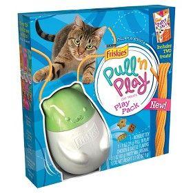 Free Friskies Pull N Play Cat Toy At Target Purina Friskies Friskies Cat Treats