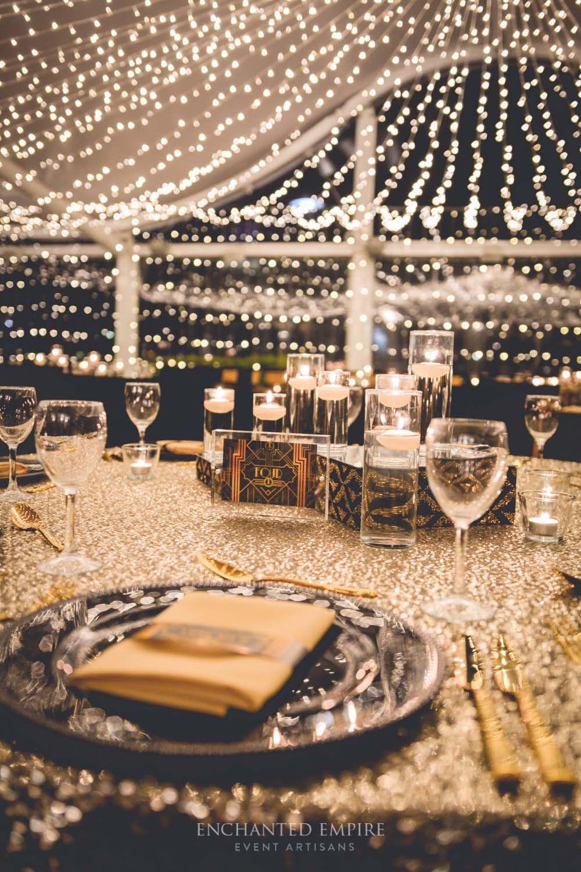 Great Gatsby Wedding styling by Enchanted Empire Event Artisans, Brisbane  QLD | Gatsby wedding theme, Gatsby wedding, Gatsby birthday party